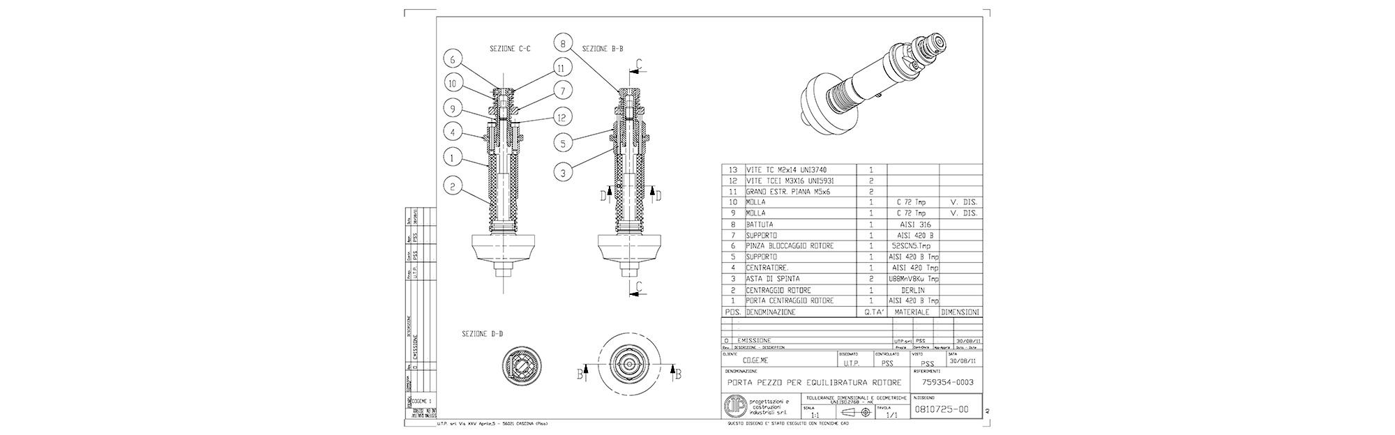 Progettazione disegno CAD