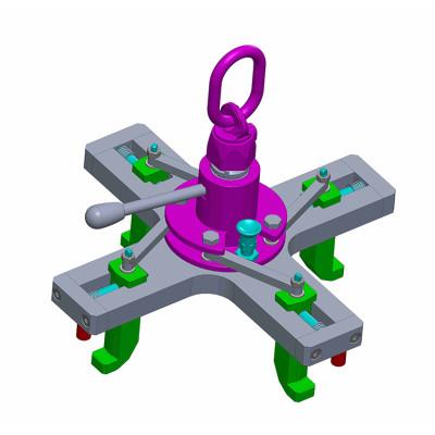 attrezzatura sollevamento ruota